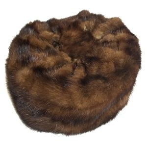 Vintage Faux Fur Pillbox Hat UPCYCLE PROJECT